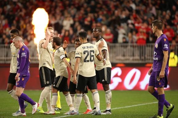 Рашфорд поведе Ман Юнайтед в първата контрола