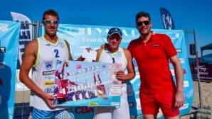 """Гибона награди шампионите във второто издание на турнира по плажен волейбол """"Byala Open"""" (галерия)"""