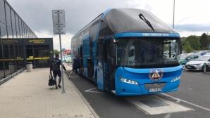 Клубният автобус ще чака Левски в Словакия