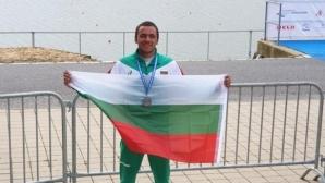 Денис Димитров със сребро на Евро 2019