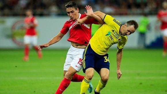 Ростов се добра до точка срещу Спартак (М), Попето игра 80 минути