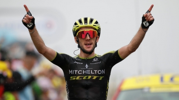 "Саймън Йейтс спечелия 15-ия етап от ""Тур дьо Франс"""
