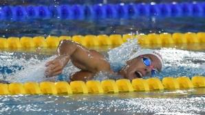 Женската смесена щафета на Черно море постави нов клубен рекорд