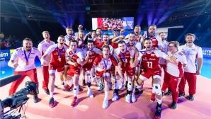 Полша, без Хейнен, разгроми Бразилия за бронза в Лигата на нациите (видео + снимки)