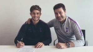 Синът на Почетино подписа първия си професионален договор с Тотнъм