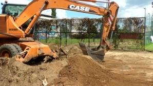 Левски започна да строи нови терени на Герена