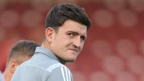 Брендън Роджърс отправи предупреждение към Сити и Юнайтед за Магуайър