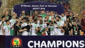 Куриозен гол даде преднина на Алжир още в началото