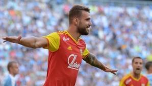 Първа победа за Арсенал и Жоро Костадинов (видео)
