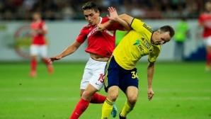 Ростов се добра до точка срещу Спартак (М), Попето игра 80 минути (видео)