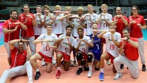 Франция срещу България на финала на Европейското в София