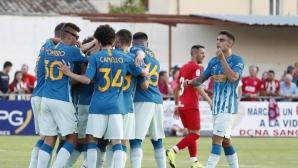 Атлетико Мадрид посече Нумансия с три късни гола, Жоао Феликс се контузи (видео)