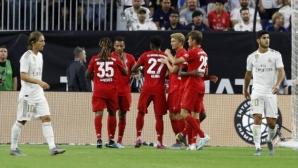 Байерн се разправи с Реал Мадрид в дебюта на Азар и Йович (видео)