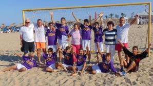 Ловеч 2018 спечели турнира за подрастващи по плажен футбол в Шкорпиловци