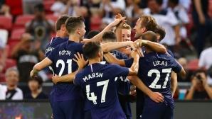 Ювентус 2:2 Тотнъм, Кристиано с гол, Де Лихт дебютира (гледайте на живо)