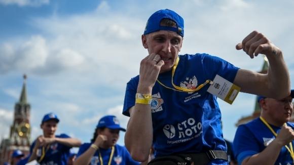 В Москва отбелязаха международния ден на бокса с рекорд на Гинес (видео)