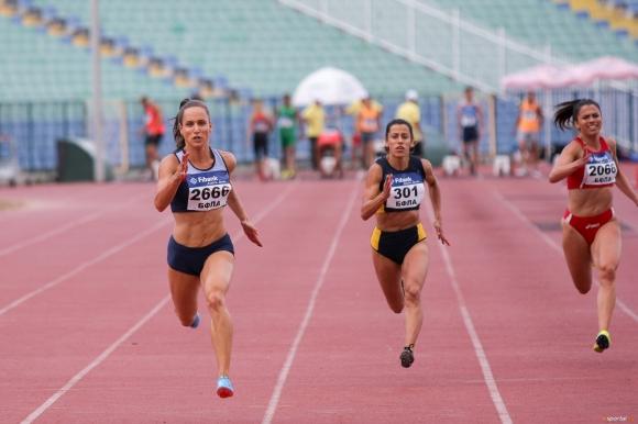 Инна Ефтимова със седма национална титла на 100 метра и рекорд за сезона