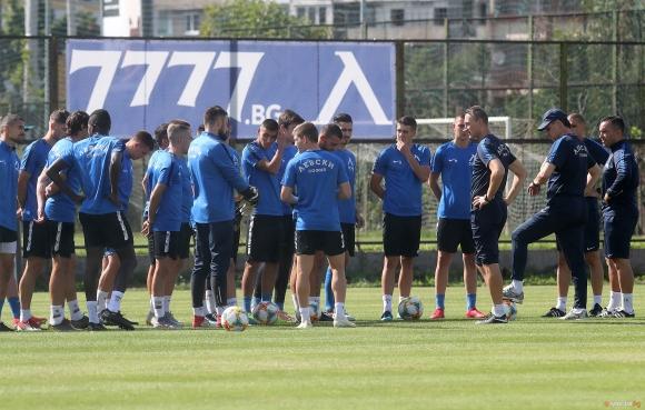 Насиру Мохамед попадна в групата на Левски за гостуването в Кипър