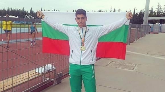 Валентин Андреев пред Sportal.bg: Казах на баща си, че ще му подаря златен медал