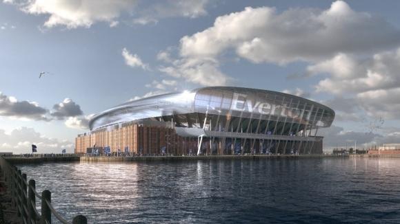 Евертън разкри плановете си за нов стадион