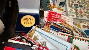 Юбилейна среща на футболни колекционери в София