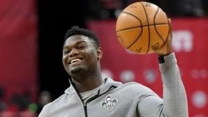 Избраният под №1 в драфта на НБА подписа многомилионен спонсорски договор