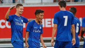 Зрелище с 9 гола приближи Гент до среща с АЕК или Левски