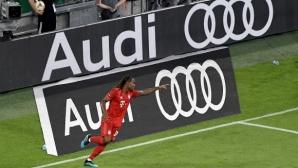 Байерн напълни мрежата на Фенербахче и ще се бори за трофея на Audi Cup (видео+галерия)
