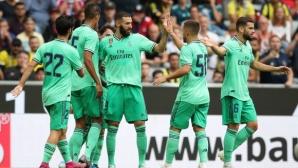 Реал Мадрид пропусна да разгроми Фенербахче на Audi Cup (видео)