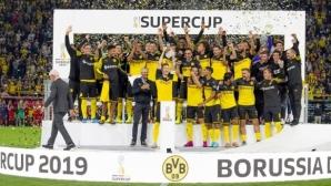 Този път Дортмунд триумфира в сблъсъка с Байерн за Суперкупата