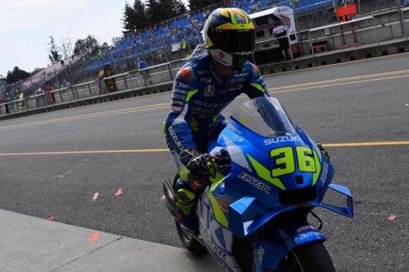 Мир приет в болница след тежко падане в MotoGP теста