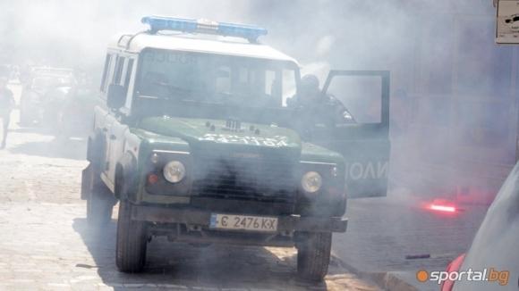 Полицията взима мерки за охраната на реда на мача между Локомотив и Страсбург