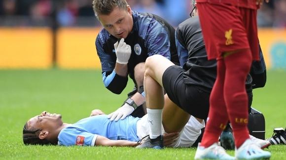 Шампионът на Англия загуби Сане за шест месеца