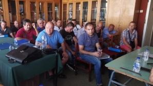 В Шумен съвещаваха относно проблемите на футбола