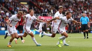 Шефилд Юнайтед с драматична точка при завръщането си