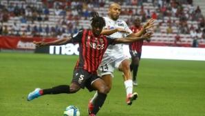 Ница повали Амиен в последните секунди, Анже с бърз обрат срещу Бордо