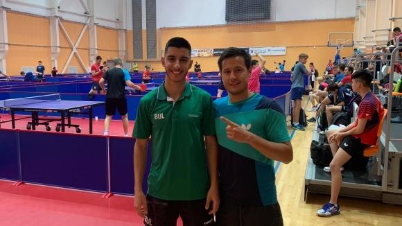 Тийнейджър донесе първата победа за България на турнира по тенис на маса в Панагюрище