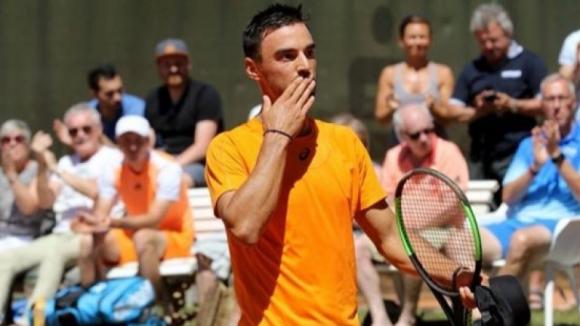 Димитър Кузманов поднови тренировки след травма на коляното