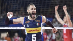 Италия срази Сърбия в Бари и взе квота за Токио 2020 (видео + снимки)