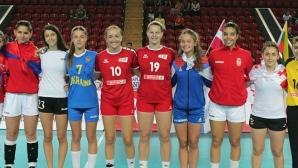 Мари Томова получи приза за голмайстор на Европейското
