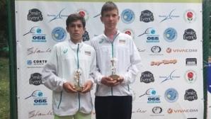 Две българчета се класираха за четвъртфиналите на турнир от Тенис Европа в Германия