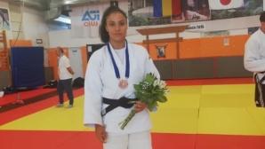 Катерина Дойчева с бронз на Европейската купа по джудо в Румъния