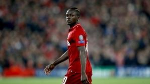 УЕФА обяви нападателя Мане за играч на мача за Суперкупата на Европа