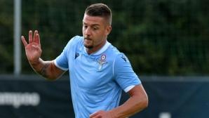 Милинкович-Савич: Няма да чуете да казвам, че искам да напусна Лацио