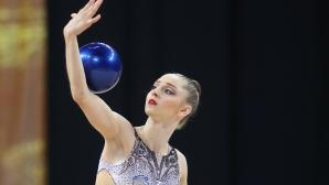 Боряна Калейн се класира за финала на топка в Минск