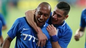 Витоша 0:1 Левски, красив гол на Паулиньо