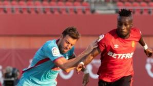 Пауло Оливейра герой и грешник за Ейбар срещу Майорка