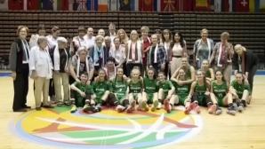 Легенди на българския баскетбол вдъхновиха 16-годишните за разгром срещу Северна Македония