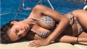 Летните емоции на най-красивата актриса в света (снимки)