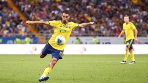 Ивелин Попов се контузи три седмици преди мача с Англия